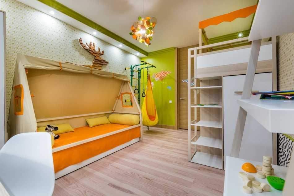 дизайн детской комнаты 9 квм фото 7