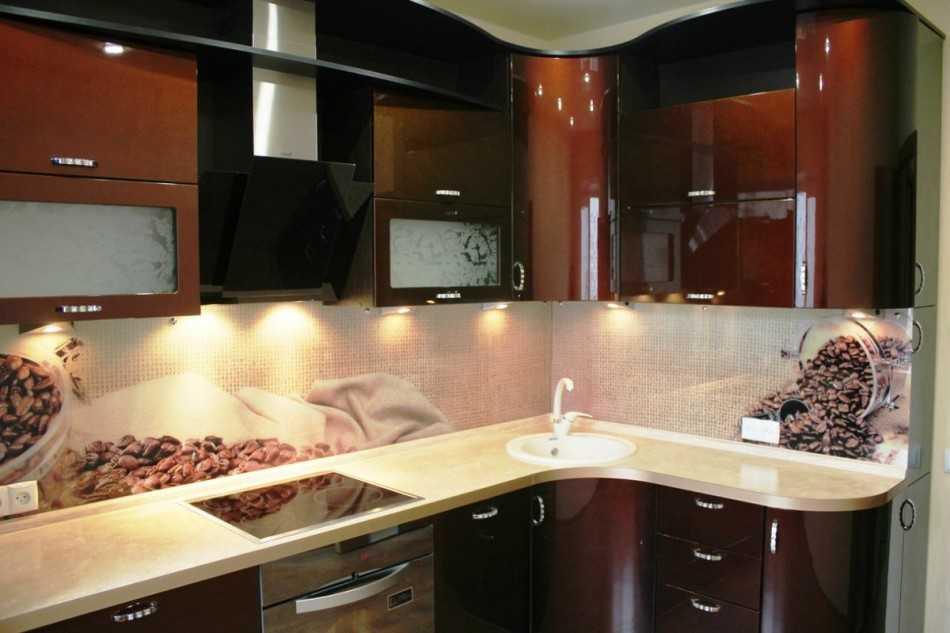 дизайн кухни 8 кв м фото 7