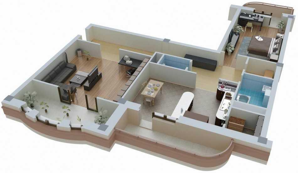 Изображение - Перепланировка квартиры что является переустройством и как согласовать Pereplanirovka-kvartiryi-8