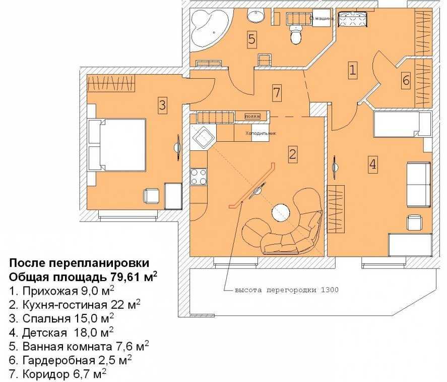 Изображение - Перепланировка квартиры что является переустройством и как согласовать Pereplanirovka-kvartiryi-9-1