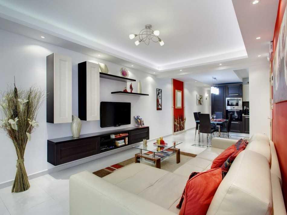 дизайн гостинной комнаты 17 квм фото в современном стиле 7
