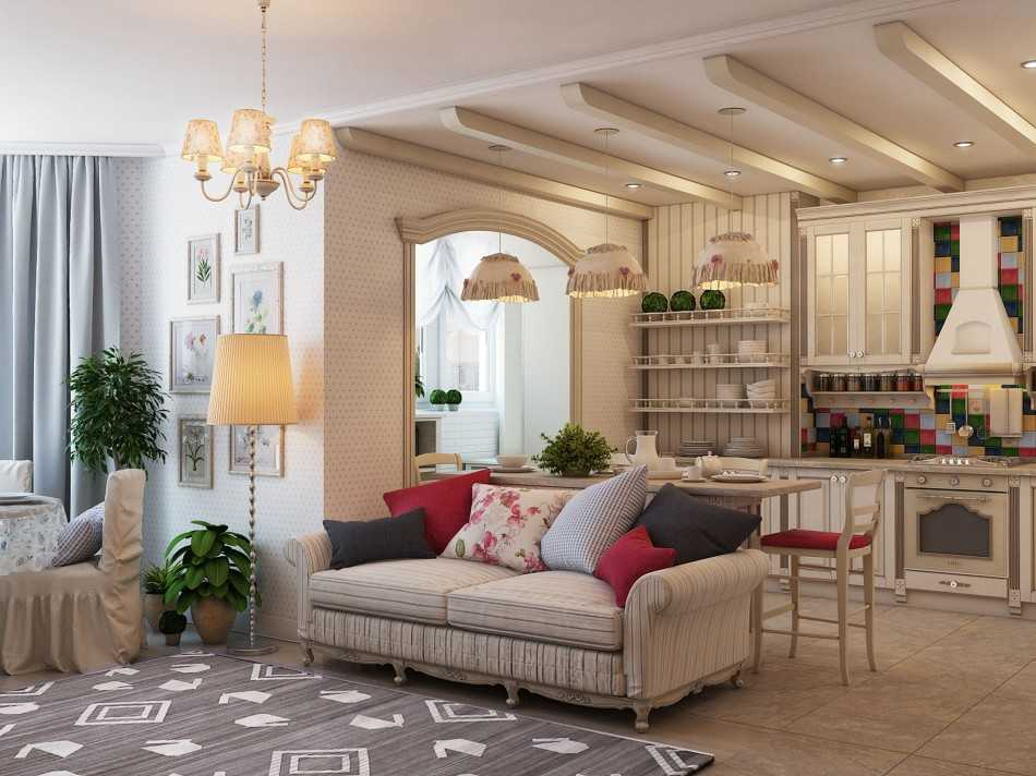 дизайн кухни гостиной 30 квм фото с зонированием в частном доме 2
